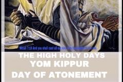 Day of Atonement Yum Kippur